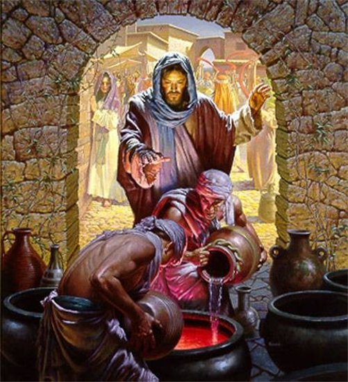 Wedding Feast At Cana.Prayers The Wedding Feast At Cana